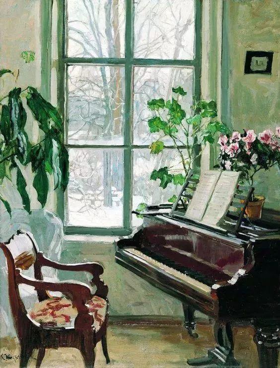 她的油画都为你开了一扇窗,丹麦德裔女画家Bertha Wegmann插图16