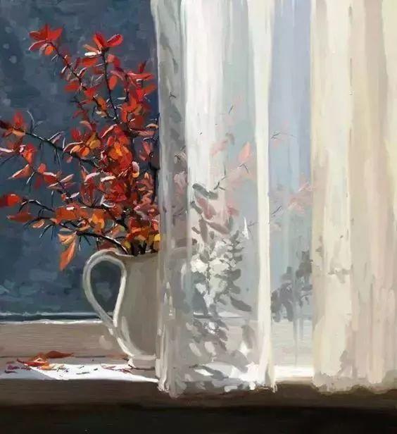 她的油画都为你开了一扇窗,丹麦德裔女画家Bertha Wegmann插图17