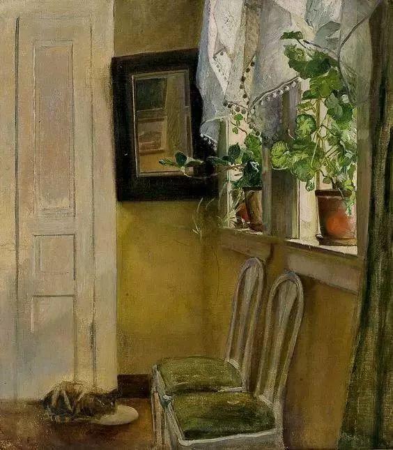 她的油画都为你开了一扇窗,丹麦德裔女画家Bertha Wegmann插图18