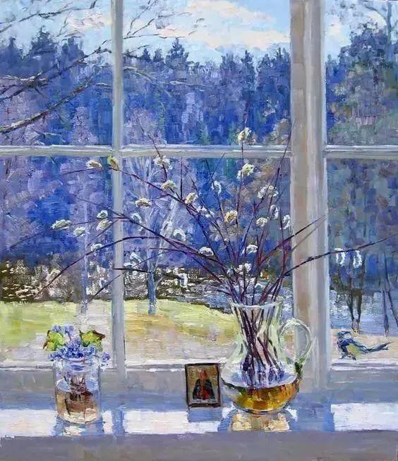 她的油画都为你开了一扇窗,丹麦德裔女画家Bertha Wegmann插图20