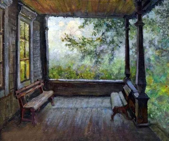 她的油画都为你开了一扇窗,丹麦德裔女画家Bertha Wegmann插图21