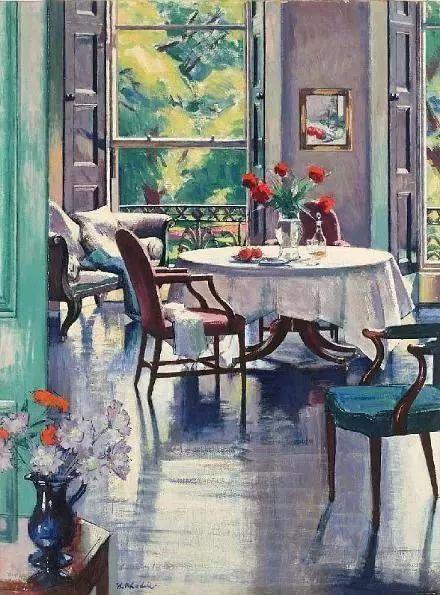 她的油画都为你开了一扇窗,丹麦德裔女画家Bertha Wegmann插图22