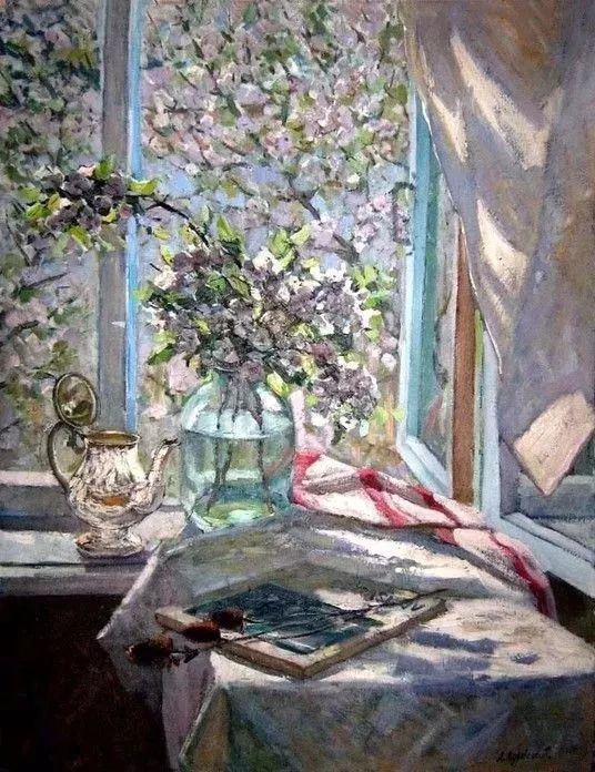 她的油画都为你开了一扇窗,丹麦德裔女画家Bertha Wegmann插图23