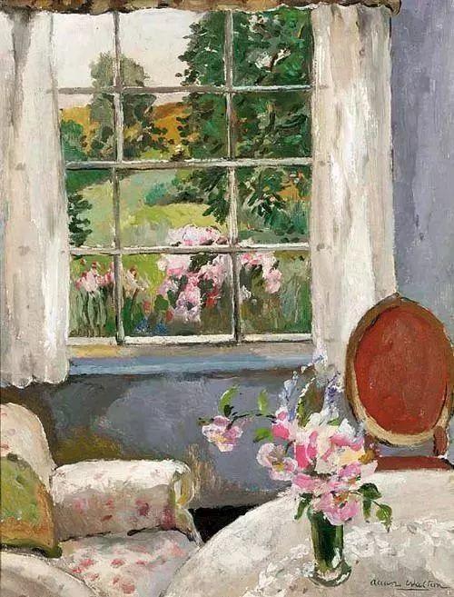 她的油画都为你开了一扇窗,丹麦德裔女画家Bertha Wegmann插图24