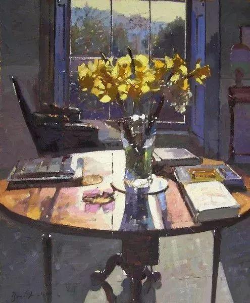 她的油画都为你开了一扇窗,丹麦德裔女画家Bertha Wegmann插图26