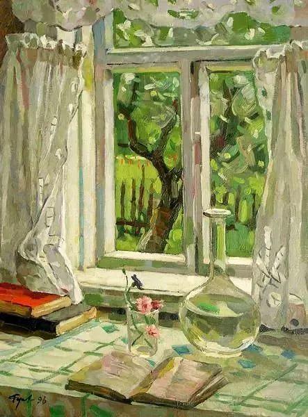 她的油画都为你开了一扇窗,丹麦德裔女画家Bertha Wegmann插图27