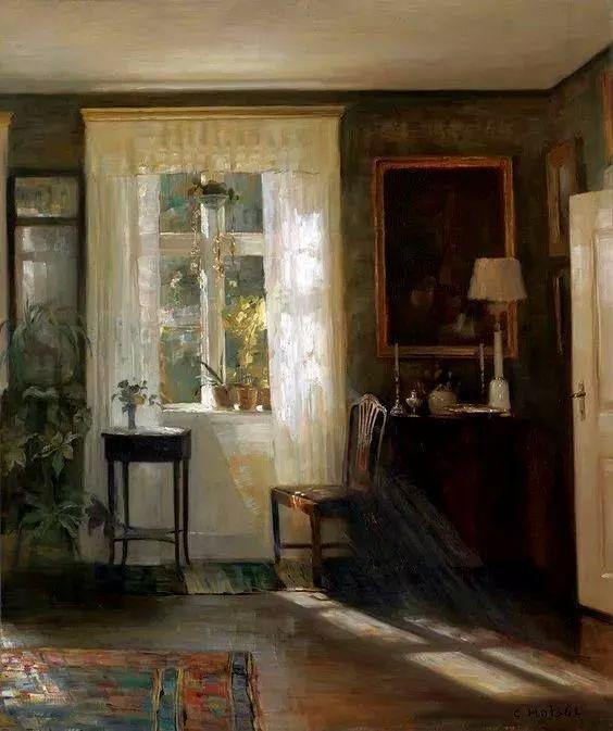 她的油画都为你开了一扇窗,丹麦德裔女画家Bertha Wegmann插图28