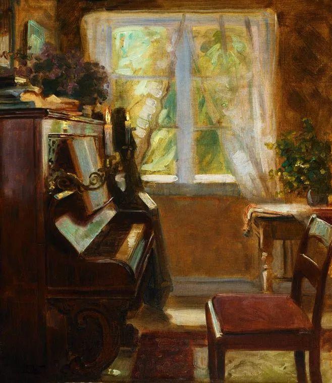 她的油画都为你开了一扇窗,丹麦德裔女画家Bertha Wegmann插图29