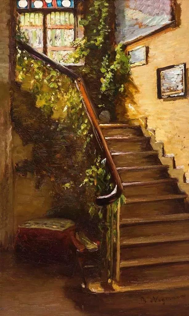 她的油画都为你开了一扇窗,丹麦德裔女画家Bertha Wegmann插图31