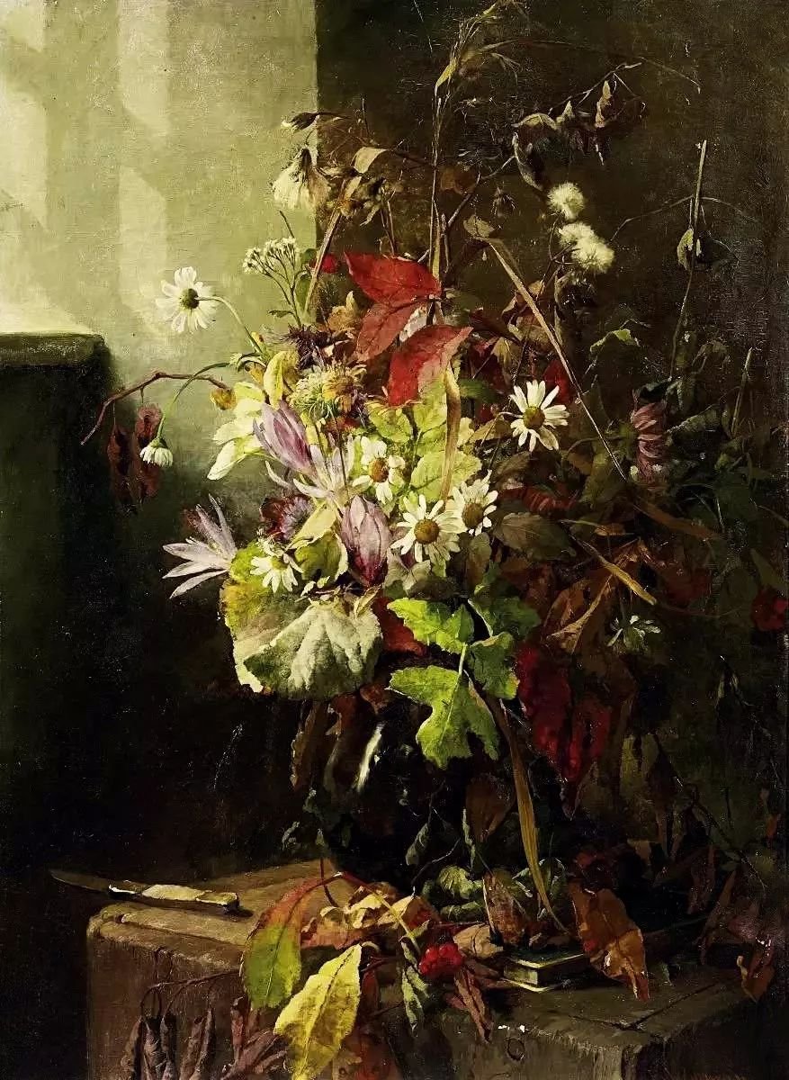 她的油画都为你开了一扇窗,丹麦德裔女画家Bertha Wegmann插图33
