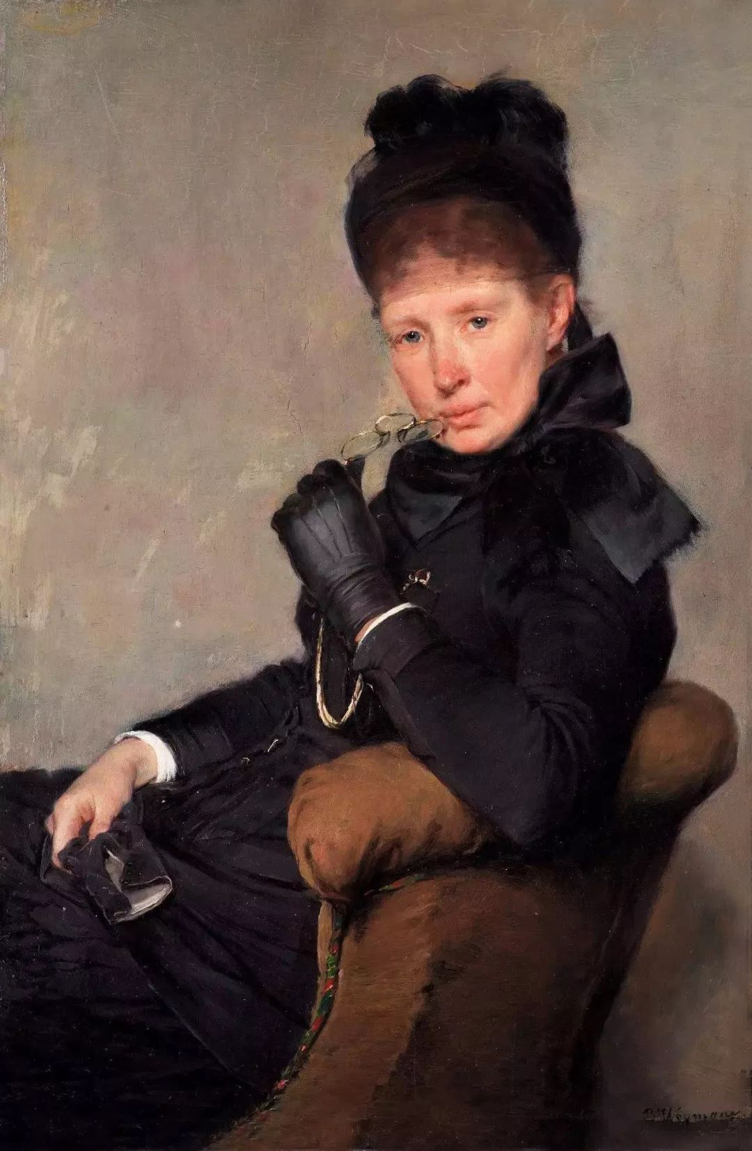 她的油画都为你开了一扇窗,丹麦德裔女画家Bertha Wegmann插图43