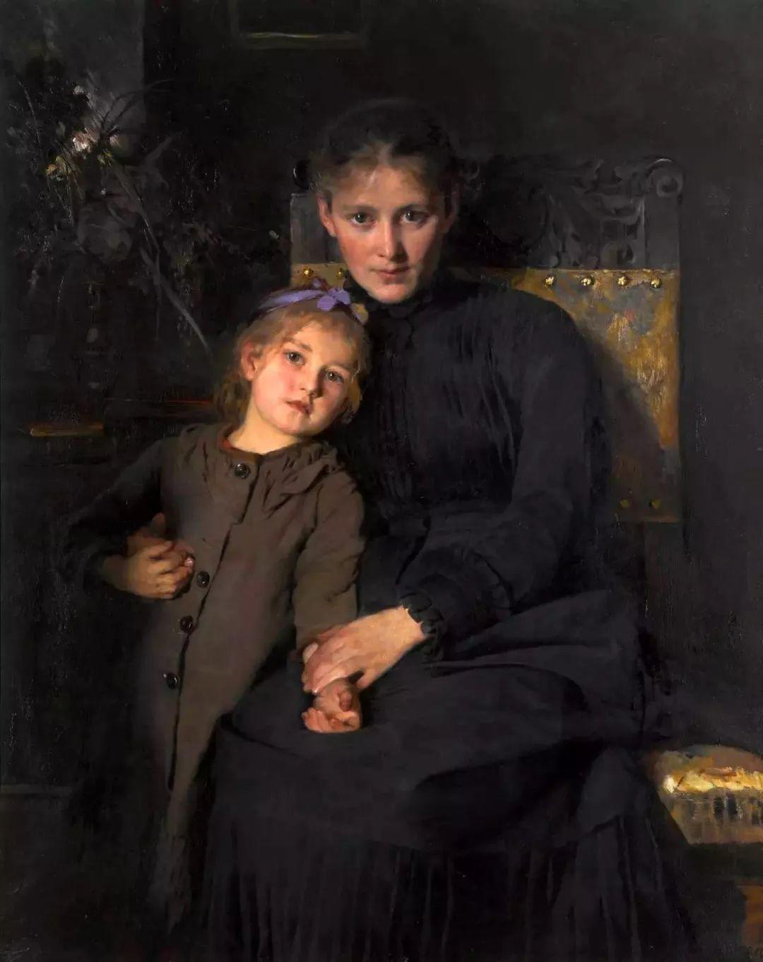 她的油画都为你开了一扇窗,丹麦德裔女画家Bertha Wegmann插图44