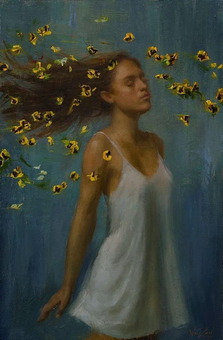 细嗅芬芳,美国画家Michael Van Zeyl插图18