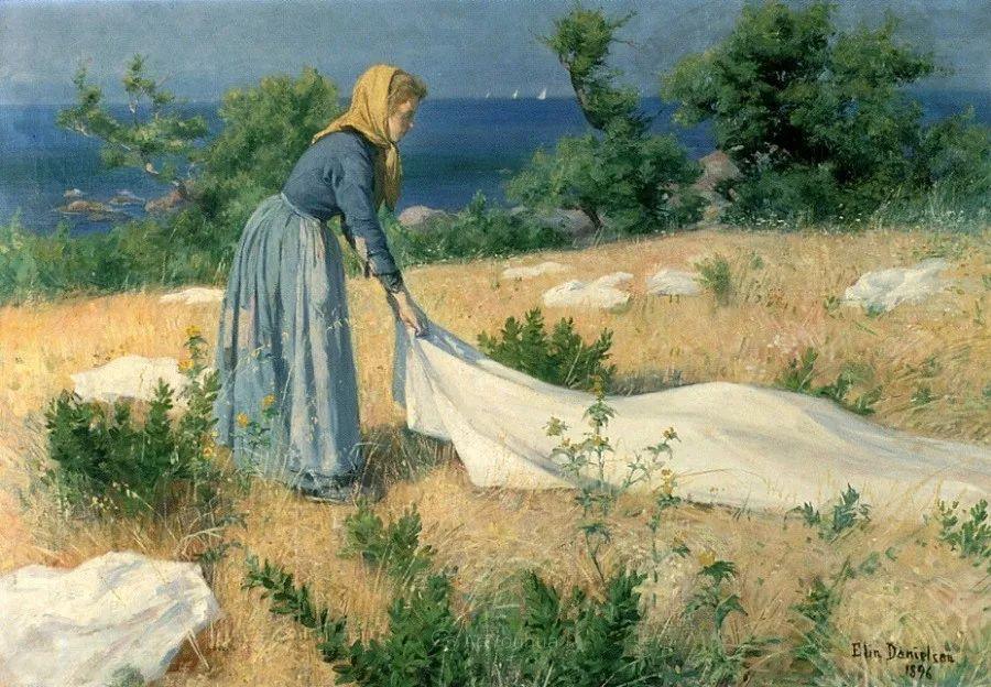 芬兰第一代女性画家Elin Danielson Gambogi插图