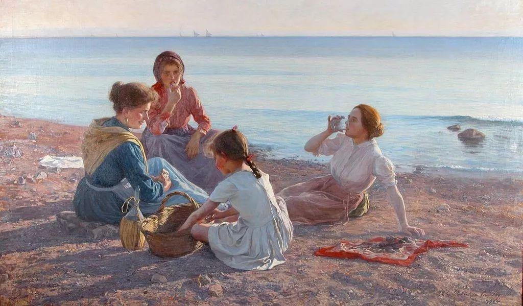 芬兰第一代女性画家Elin Danielson Gambogi插图2
