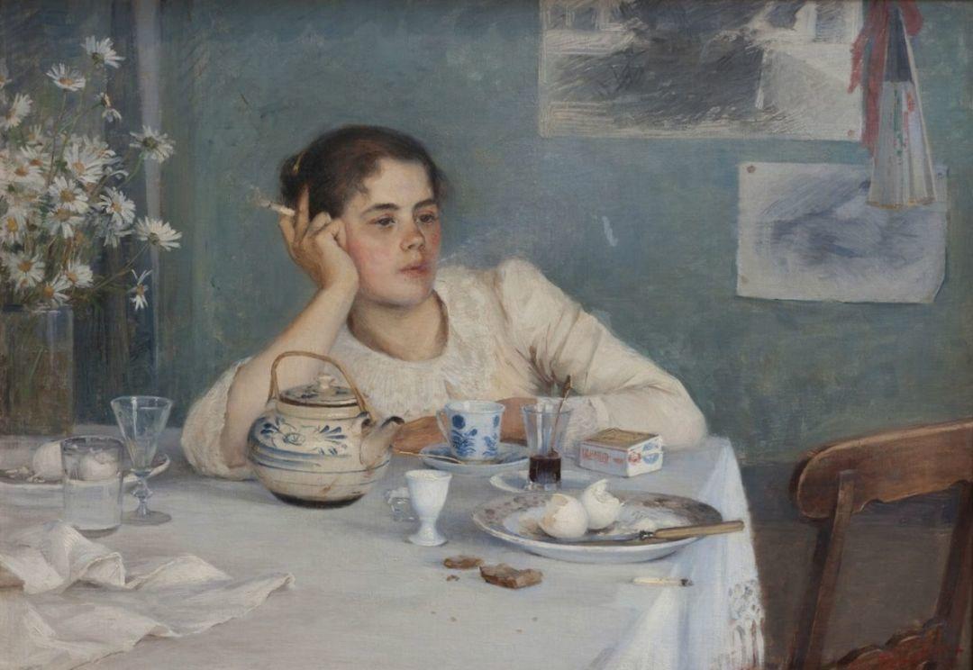 芬兰第一代女性画家Elin Danielson Gambogi插图3