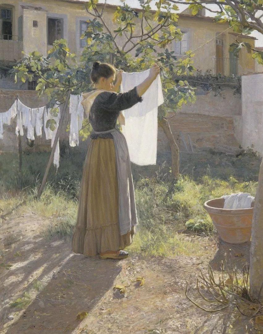 芬兰第一代女性画家Elin Danielson Gambogi插图4