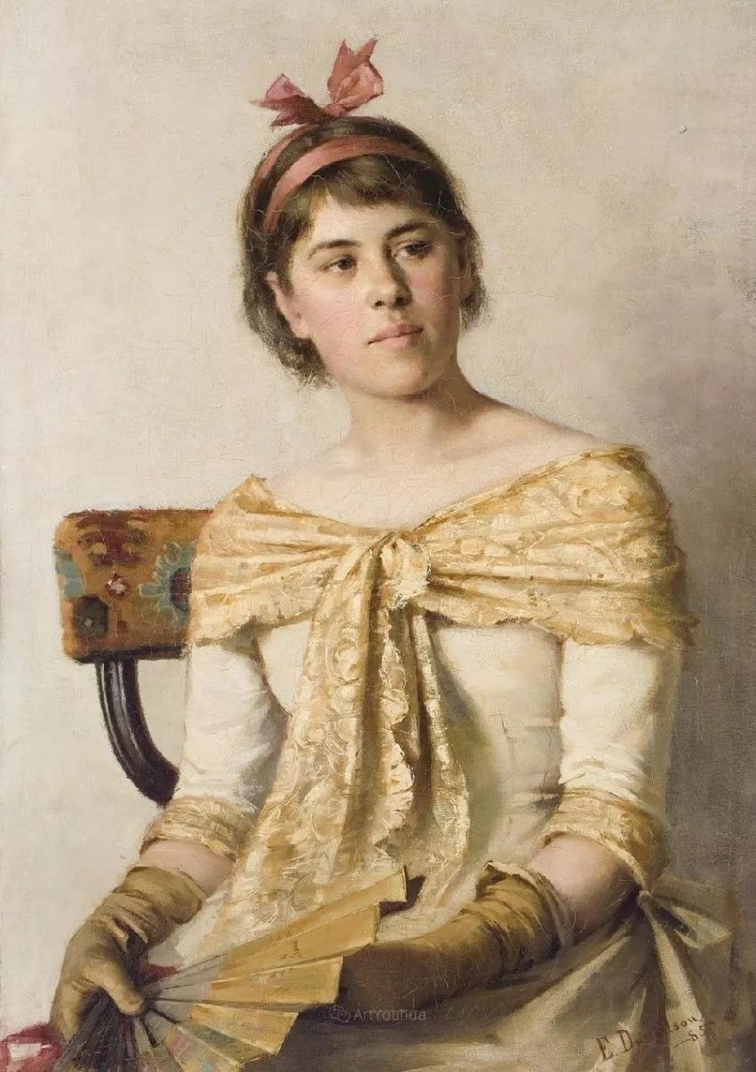 芬兰第一代女性画家Elin Danielson Gambogi插图5