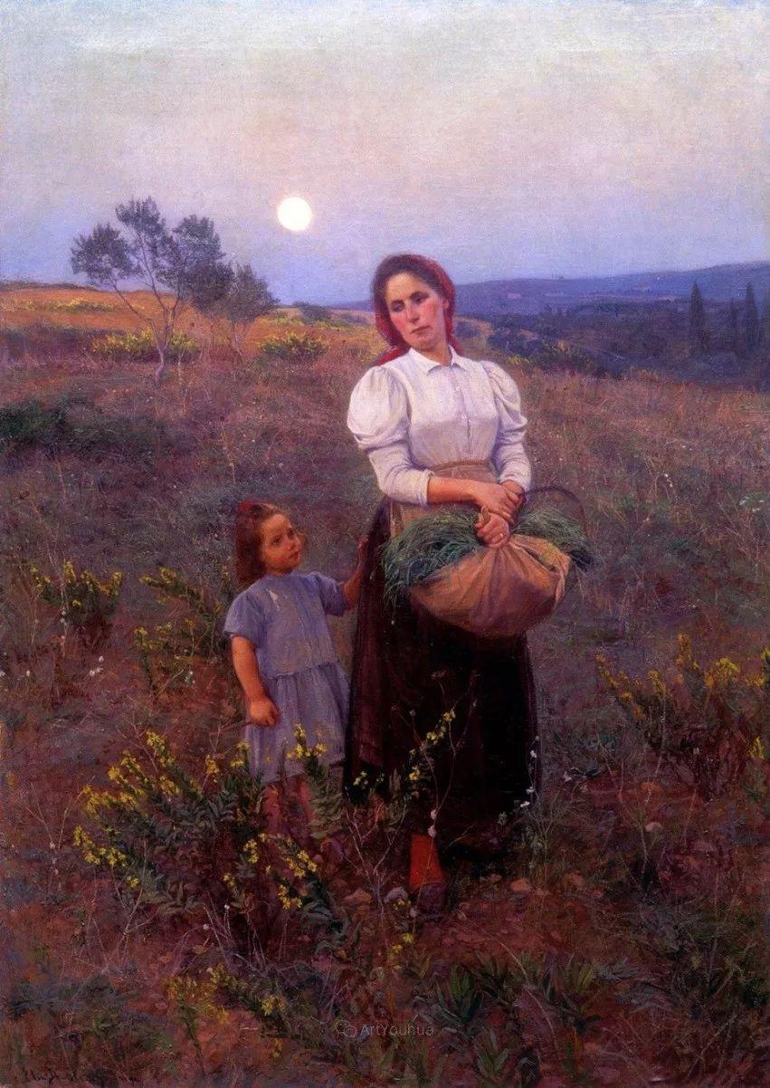 芬兰第一代女性画家Elin Danielson Gambogi插图10