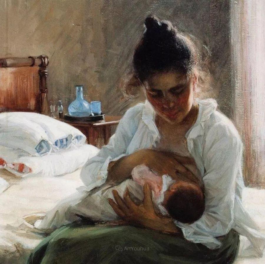 芬兰第一代女性画家Elin Danielson Gambogi插图11