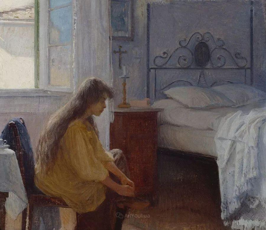 芬兰第一代女性画家Elin Danielson Gambogi插图12