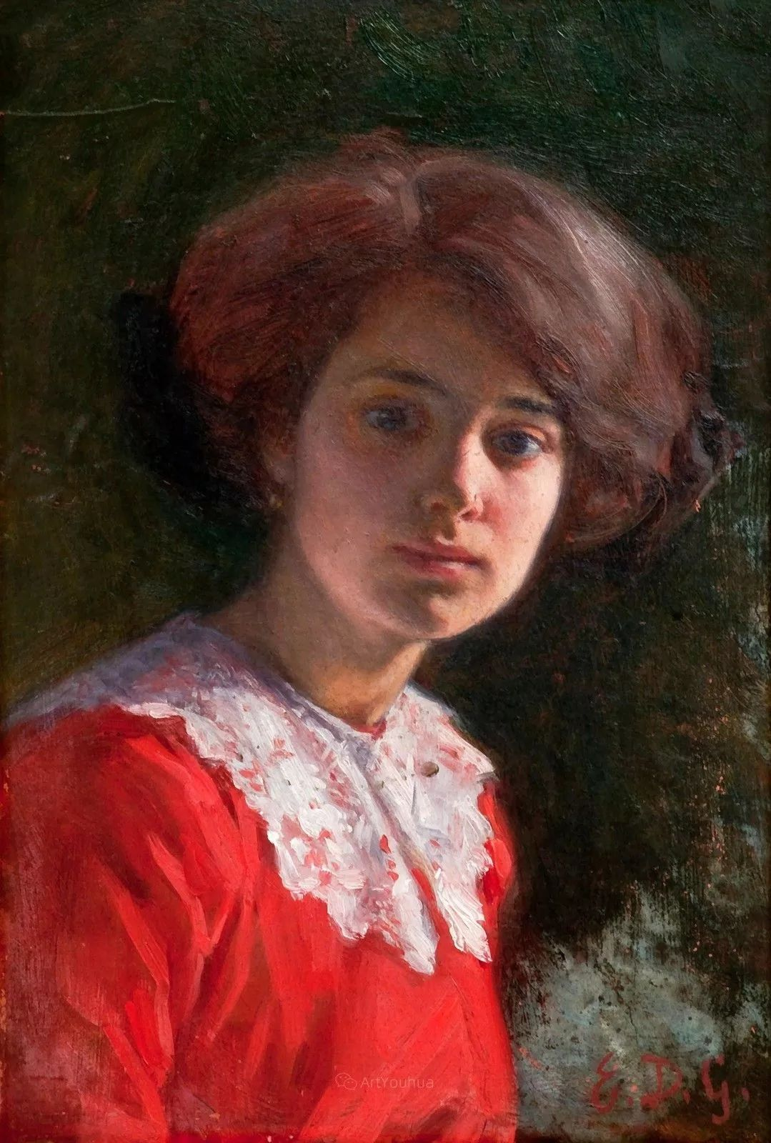 芬兰第一代女性画家Elin Danielson Gambogi插图16