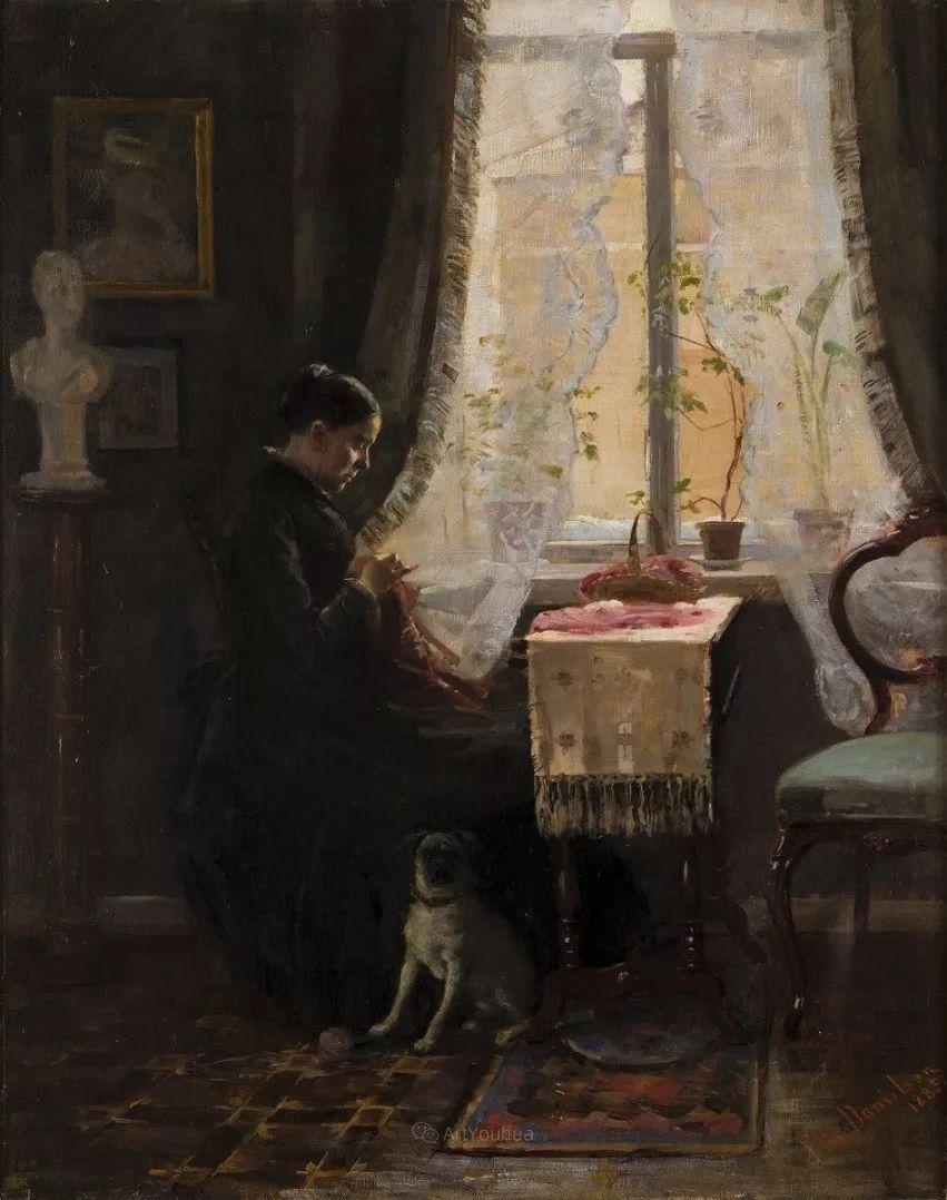 芬兰第一代女性画家Elin Danielson Gambogi插图17