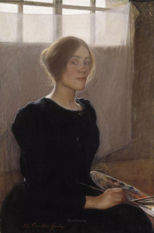 芬兰第一代女性画家Elin Danielson Gambogi插图18