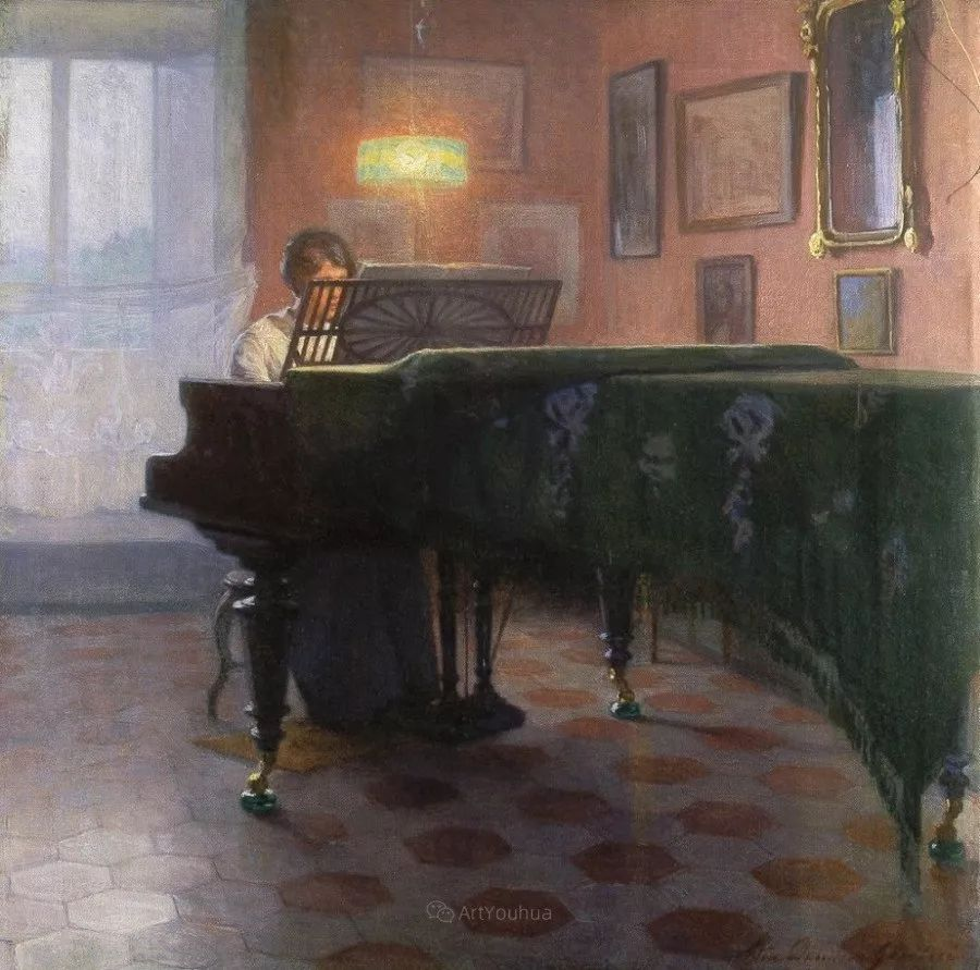 芬兰第一代女性画家Elin Danielson Gambogi插图19