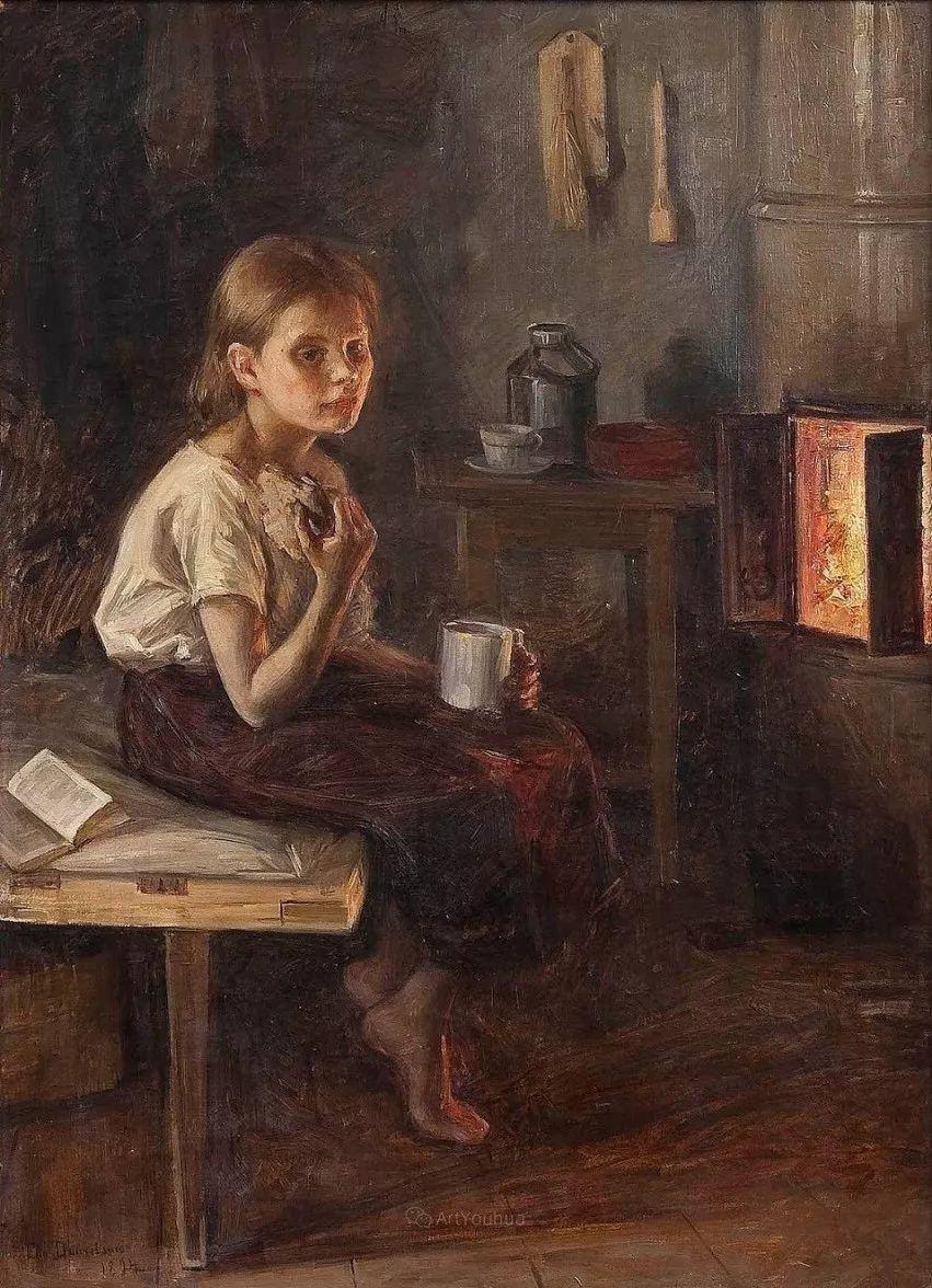 芬兰第一代女性画家Elin Danielson Gambogi插图22