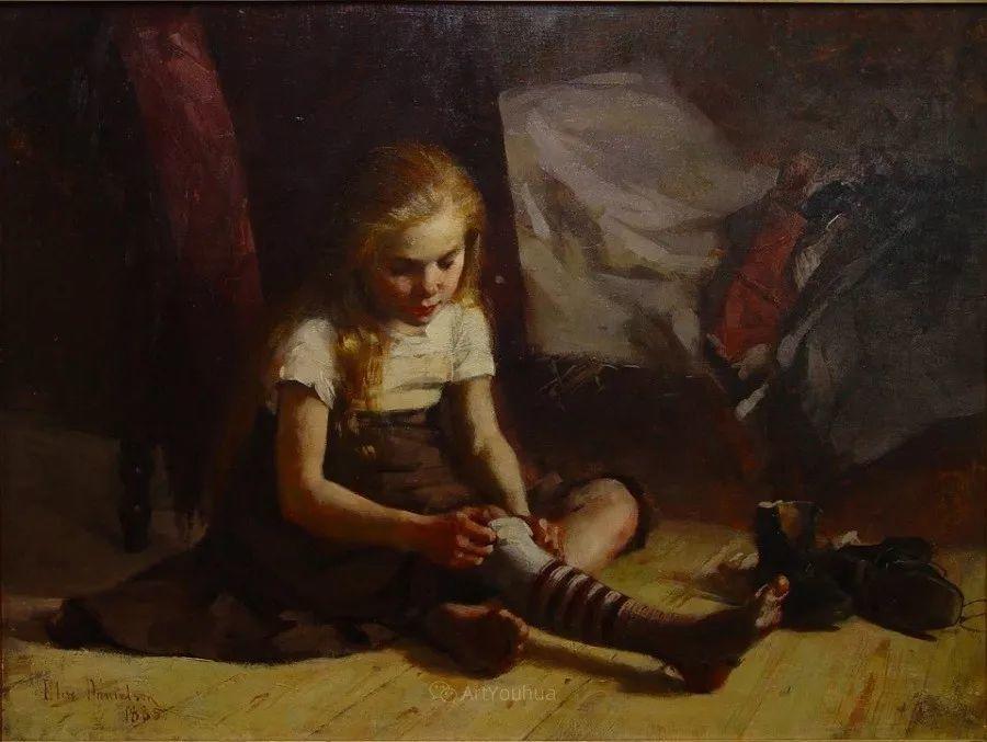 芬兰第一代女性画家Elin Danielson Gambogi插图24
