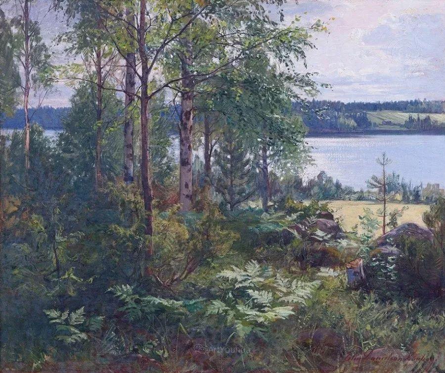 芬兰第一代女性画家Elin Danielson Gambogi插图32