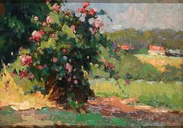 后印象派风景 法国画家Edouard Léon Cortès作品二插图7