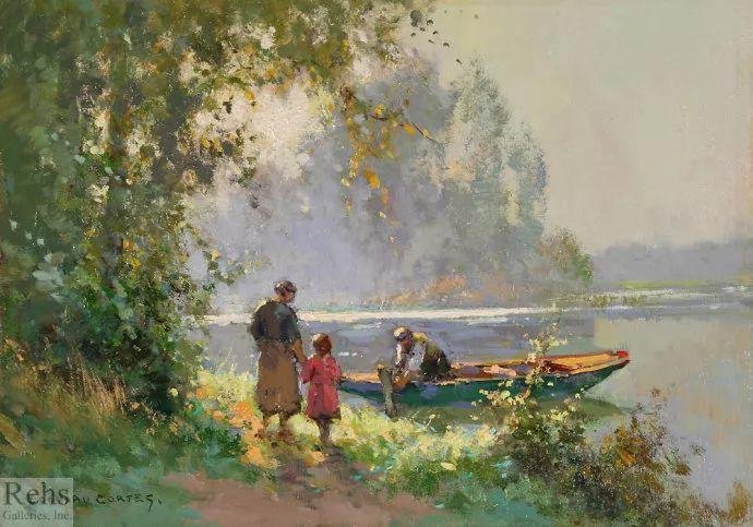 后印象派风景 法国画家Edouard Léon Cortès作品二插图31