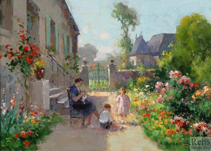 后印象派风景 法国画家Edouard Léon Cortès作品二插图35
