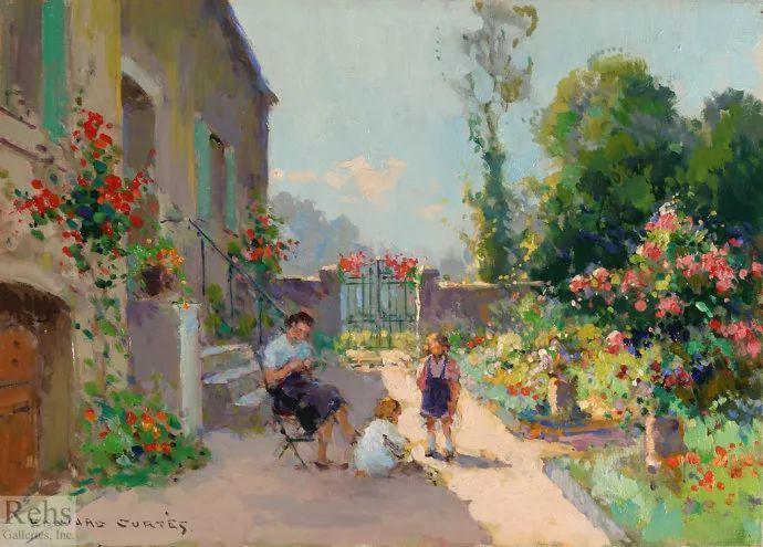 后印象派风景 法国画家Edouard Léon Cortès作品二插图39
