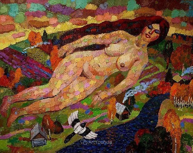 色彩艳丽,俄罗斯艺术家Igor Zagrievich Berdyshev插图2