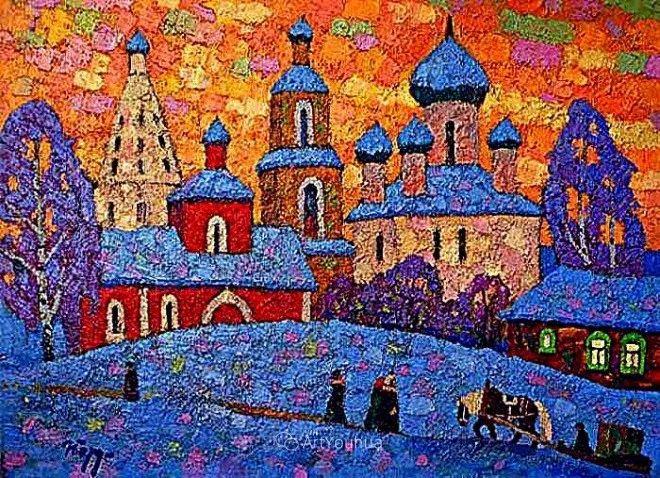 色彩艳丽,俄罗斯艺术家Igor Zagrievich Berdyshev插图3