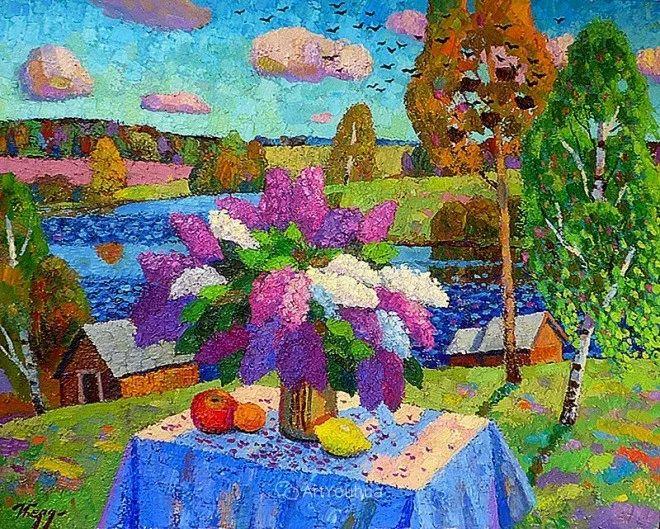 色彩艳丽,俄罗斯艺术家Igor Zagrievich Berdyshev插图7