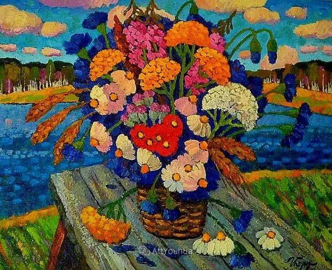 色彩艳丽,俄罗斯艺术家Igor Zagrievich Berdyshev插图9