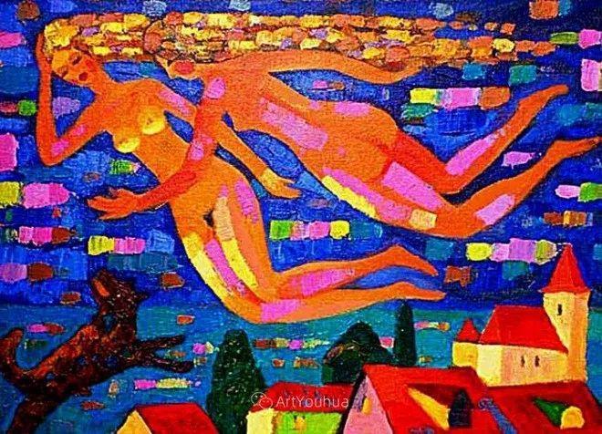 色彩艳丽,俄罗斯艺术家Igor Zagrievich Berdyshev插图10