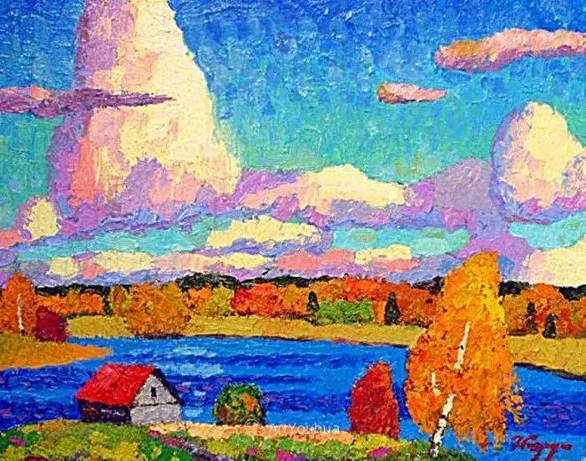 色彩艳丽,俄罗斯艺术家Igor Zagrievich Berdyshev插图14