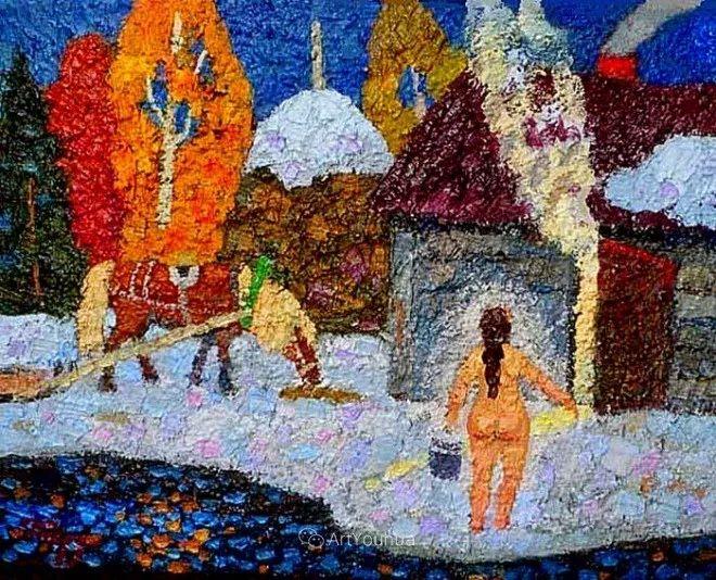 色彩艳丽,俄罗斯艺术家Igor Zagrievich Berdyshev插图18