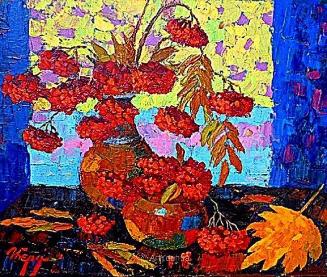 色彩艳丽,俄罗斯艺术家Igor Zagrievich Berdyshev插图19