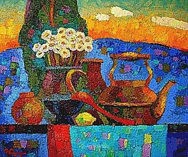色彩艳丽,俄罗斯艺术家Igor Zagrievich Berdyshev插图20