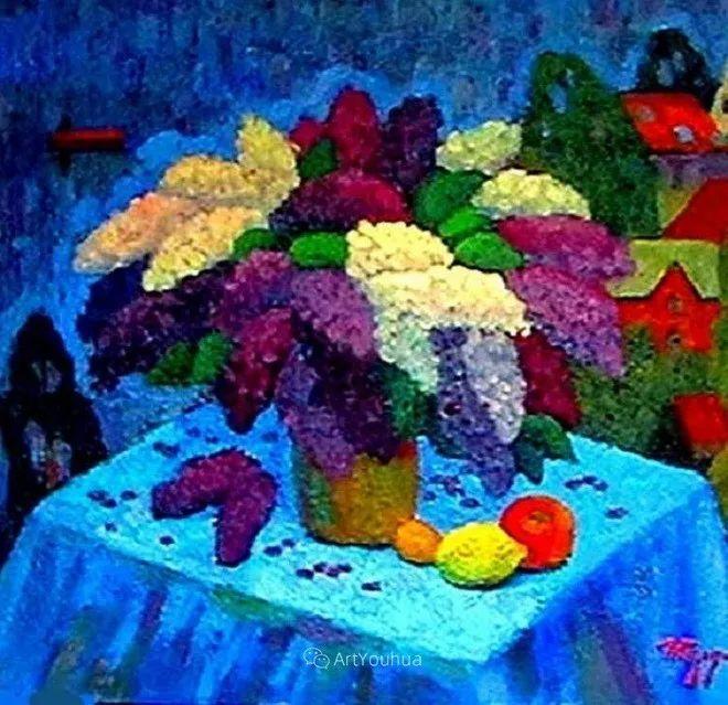 色彩艳丽,俄罗斯艺术家Igor Zagrievich Berdyshev插图21