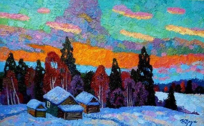 色彩艳丽,俄罗斯艺术家Igor Zagrievich Berdyshev插图22