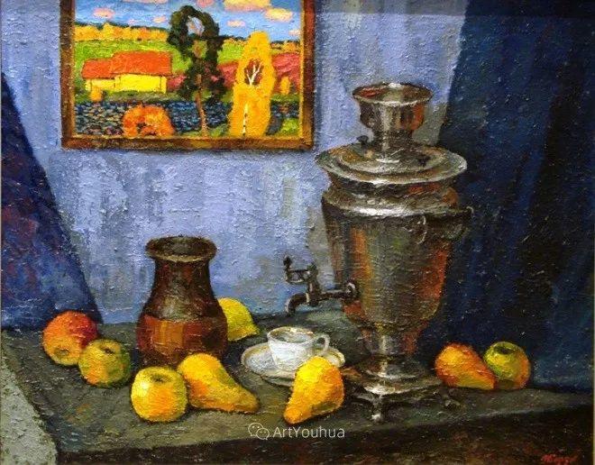色彩艳丽,俄罗斯艺术家Igor Zagrievich Berdyshev插图24
