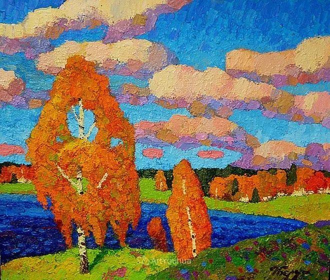 色彩艳丽,俄罗斯艺术家Igor Zagrievich Berdyshev插图26