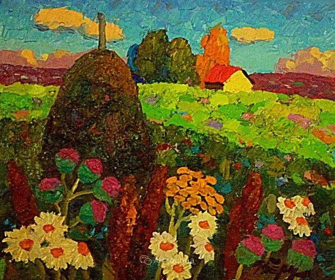 色彩艳丽,俄罗斯艺术家Igor Zagrievich Berdyshev插图27